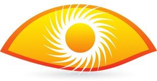 Λογότυπο ματιών Στοκ εικόνες με δικαίωμα ελεύθερης χρήσης