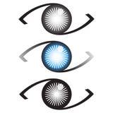 Λογότυπο ματιών διανυσματική απεικόνιση