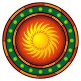 λογότυπο μεξικανός Στοκ Εικόνες
