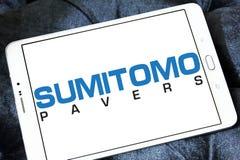 Λογότυπο μηχανημάτων κατασκευής Sumitomo Στοκ Εικόνα