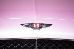 Λογότυπο μηχανών Bentley Στοκ φωτογραφία με δικαίωμα ελεύθερης χρήσης