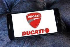 Λογότυπο μηχανών Ducati Στοκ Φωτογραφία