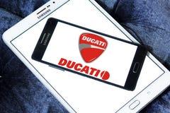 Λογότυπο μηχανών Ducati Στοκ Εικόνες