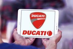 Λογότυπο μοτοσικλετών Ducati Στοκ Εικόνες