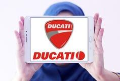 Λογότυπο μοτοσικλετών Ducati Στοκ φωτογραφίες με δικαίωμα ελεύθερης χρήσης