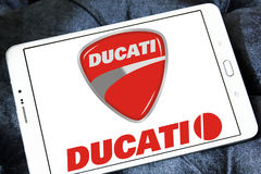 Λογότυπο μοτοσικλετών Ducati Στοκ εικόνα με δικαίωμα ελεύθερης χρήσης