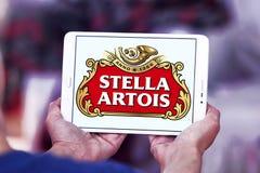 Λογότυπο μπύρας της Στέλλα Artois Στοκ εικόνες με δικαίωμα ελεύθερης χρήσης