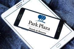 Λογότυπο ξενοδοχείων και θερέτρων Plaza πάρκων Στοκ εικόνα με δικαίωμα ελεύθερης χρήσης