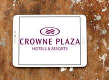 Λογότυπο ξενοδοχείων Plaza Crowne Στοκ Εικόνες