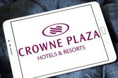 Λογότυπο ξενοδοχείων Plaza Crowne Στοκ φωτογραφία με δικαίωμα ελεύθερης χρήσης