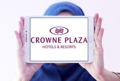 Λογότυπο ξενοδοχείων Plaza Crowne Στοκ εικόνα με δικαίωμα ελεύθερης χρήσης