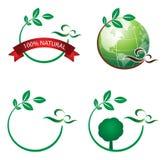 λογότυπο οικολογίας Στοκ εικόνα με δικαίωμα ελεύθερης χρήσης