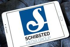 Λογότυπο ομάδας μέσων Schibsted Στοκ φωτογραφίες με δικαίωμα ελεύθερης χρήσης