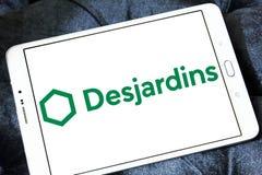 Λογότυπο ομάδας Desjardins Στοκ εικόνες με δικαίωμα ελεύθερης χρήσης