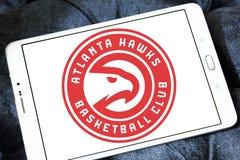 Λογότυπο ομάδα μπάσκετ των Atlanta Hawks Στοκ Φωτογραφίες