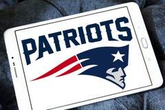 Λογότυπο ομάδων αμερικανικού ποδοσφαίρου των New England Patriots στοκ εικόνες με δικαίωμα ελεύθερης χρήσης
