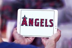 Λογότυπο ομάδων μπέιζμπολ των Los Angeles Angels Στοκ Φωτογραφίες