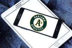 Λογότυπο ομάδων μπέιζμπολ των Oakland Athletics Στοκ εικόνες με δικαίωμα ελεύθερης χρήσης