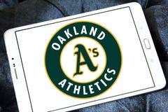 Λογότυπο ομάδων μπέιζμπολ των Oakland Athletics Στοκ φωτογραφία με δικαίωμα ελεύθερης χρήσης