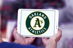 Λογότυπο ομάδων μπέιζμπολ των Oakland Athletics Στοκ Εικόνες