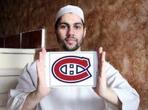 Λογότυπο ομάδων χόκεϊ πάγου του Μόντρεαλ Canadiens Στοκ Εικόνα