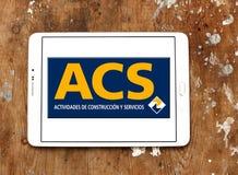 Λογότυπο ομάδας κατασκευής Acs Στοκ Φωτογραφίες
