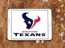 Λογότυπο ομάδων αμερικανικού ποδοσφαίρου του Χιούστον Texans Στοκ Φωτογραφία