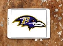 Λογότυπο ομάδων αμερικανικού ποδοσφαίρου των Baltimore Ravens Στοκ εικόνες με δικαίωμα ελεύθερης χρήσης