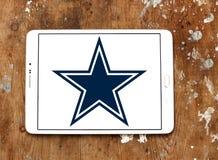 Λογότυπο ομάδων αμερικανικού ποδοσφαίρου των Dallas Cowboys Στοκ Εικόνες
