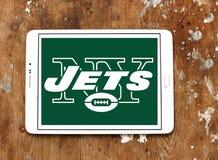 Λογότυπο ομάδων αμερικανικού ποδοσφαίρου των New York Jets Στοκ φωτογραφίες με δικαίωμα ελεύθερης χρήσης