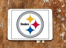 Λογότυπο ομάδων αμερικανικού ποδοσφαίρου των Pittsburgh Steelers Στοκ εικόνες με δικαίωμα ελεύθερης χρήσης