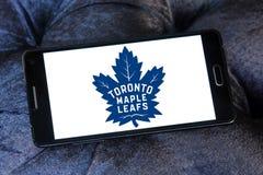 Λογότυπο ομάδων χόκεϊ του Τορόντου Maple Leafs Στοκ Εικόνες