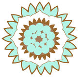 Λογότυπο λουλουδιών Στοκ φωτογραφία με δικαίωμα ελεύθερης χρήσης