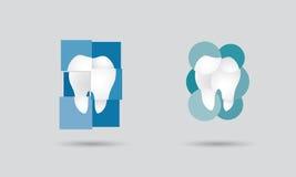 Λογότυπο οδοντιατρικής διανυσματική απεικόνιση