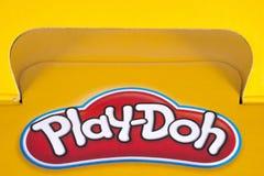 Λογότυπο παιχνίδι-Doh Στοκ φωτογραφία με δικαίωμα ελεύθερης χρήσης