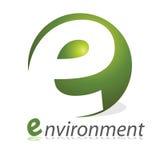 λογότυπο περιβάλλοντο&si διανυσματική απεικόνιση