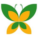 λογότυπο πεταλούδων Στοκ φωτογραφία με δικαίωμα ελεύθερης χρήσης
