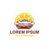 Λογότυπο πιτών λεμονιών Στοκ φωτογραφία με δικαίωμα ελεύθερης χρήσης
