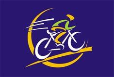 Λογότυπο ποδηλάτων Στοκ φωτογραφίες με δικαίωμα ελεύθερης χρήσης