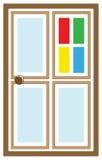 λογότυπο πορτών Στοκ Εικόνα