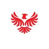 Λογότυπο πουλιών αετών Στοκ Φωτογραφία