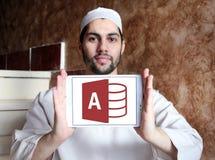 Λογότυπο πρόσβασης Microsoft Office Στοκ φωτογραφία με δικαίωμα ελεύθερης χρήσης