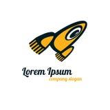 Λογότυπο πυραύλων Στοκ εικόνα με δικαίωμα ελεύθερης χρήσης
