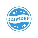 Λογότυπο πλυντηρίων Στοκ Φωτογραφίες