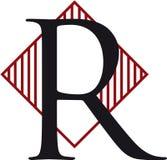 λογότυπο ρ Στοκ φωτογραφία με δικαίωμα ελεύθερης χρήσης