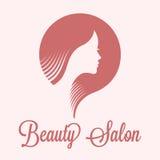 Λογότυπο σαλονιών ομορφιάς Στοκ φωτογραφίες με δικαίωμα ελεύθερης χρήσης