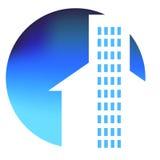 Λογότυπο σπιτιών Στοκ Εικόνες