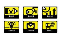 Λογότυπο συμβόλων απεικόνιση αποθεμάτων