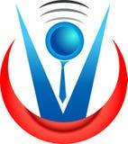 λογότυπο συνηγόρων διανυσματική απεικόνιση