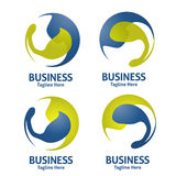 Λογότυπο σφαιρών Στοκ Εικόνες